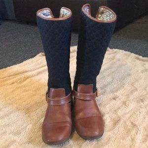 Equestrian boots by Tommy Hilfiger (girls) size 5